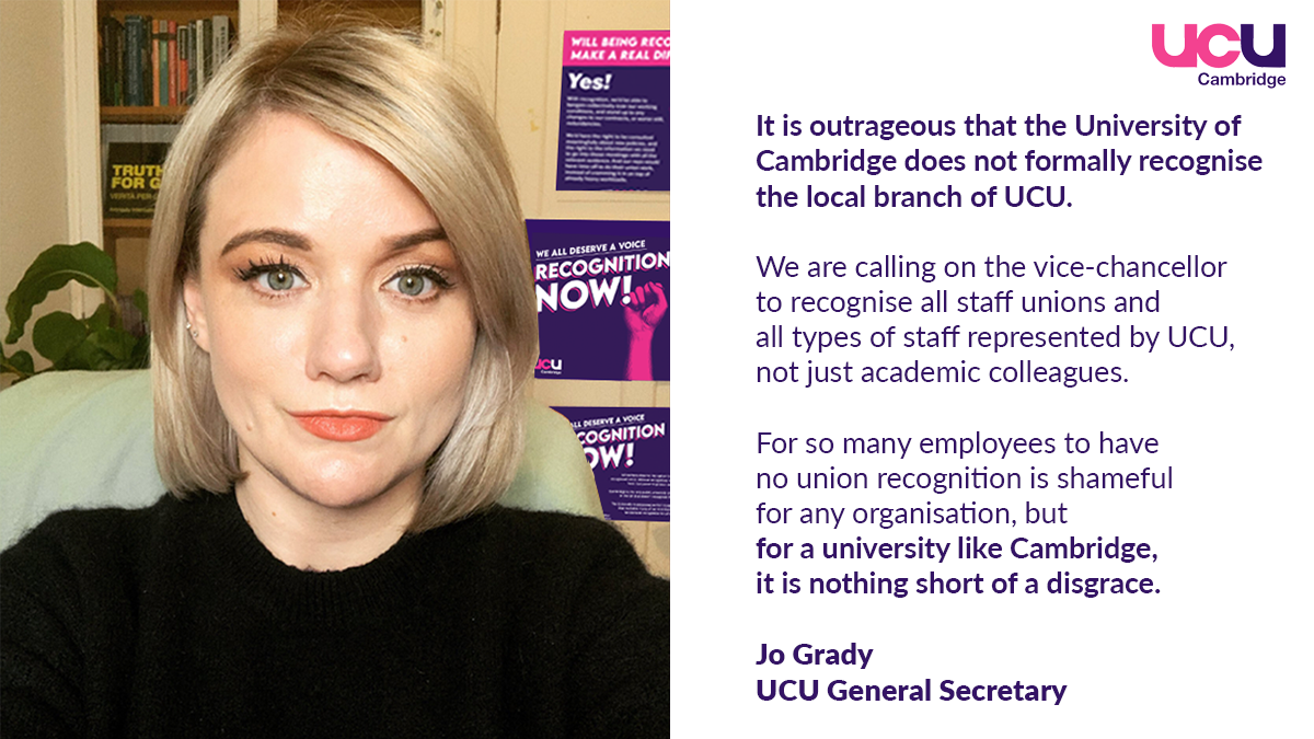 Why recognition? Our members speak out.